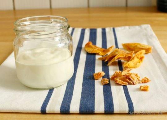 Joghurt + Mango = lecker!