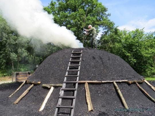 Jede Menge Kohle – im Meilermekka Walpersdorf