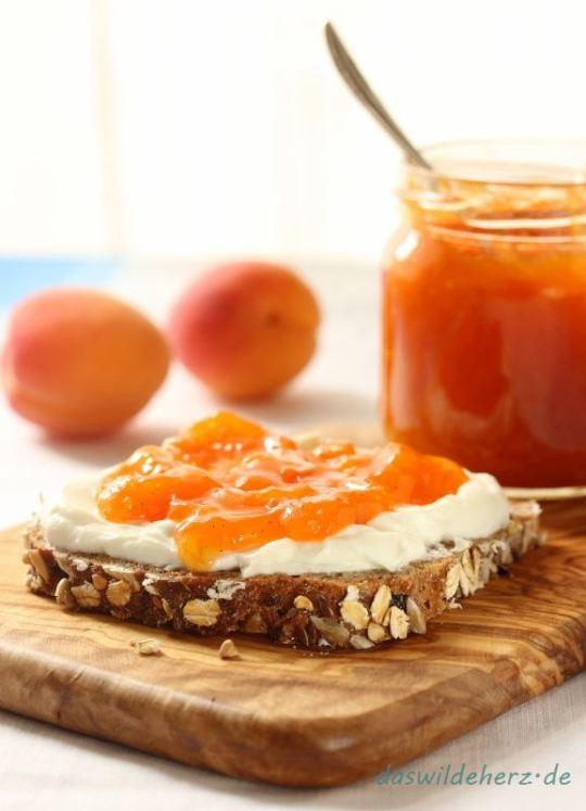 Rezept für extrafeine Aprikosenkonfitüre
